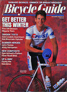 Ibis Tandem – Fat tire express points the way to a better tandem design Bicycle Guide - October 1988